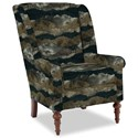 Craftmaster Accent Chairs Modified Wing Back Chair - Item Number: 030410-PANORAMA-23