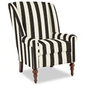 Craftmaster Accent Chairs Modified Wing Back Chair - Item Number: 030410-PORTERO-45