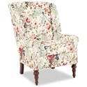 Craftmaster Accent Chairs Modified Wing Back Chair - Item Number: 030410-ROSELAND-10