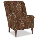 Craftmaster Accent Chairs Modified Wing Back Chair - Item Number: 030410-SHENA-26