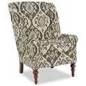 Craftmaster Accent Chairs Modified Wing Back Chair - Item Number: 030410-SURI-41