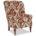 Craftmaster Accent Chairs Modified Wing Back Chair - Item Number: 030410-TARASCAN-26