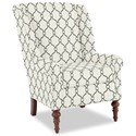 Craftmaster Accent Chairs Modified Wing Back Chair - Item Number: 030410-VERA-21