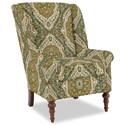 Craftmaster Accent Chairs Modified Wing Back Chair - Item Number: 030410-VINCENT-21