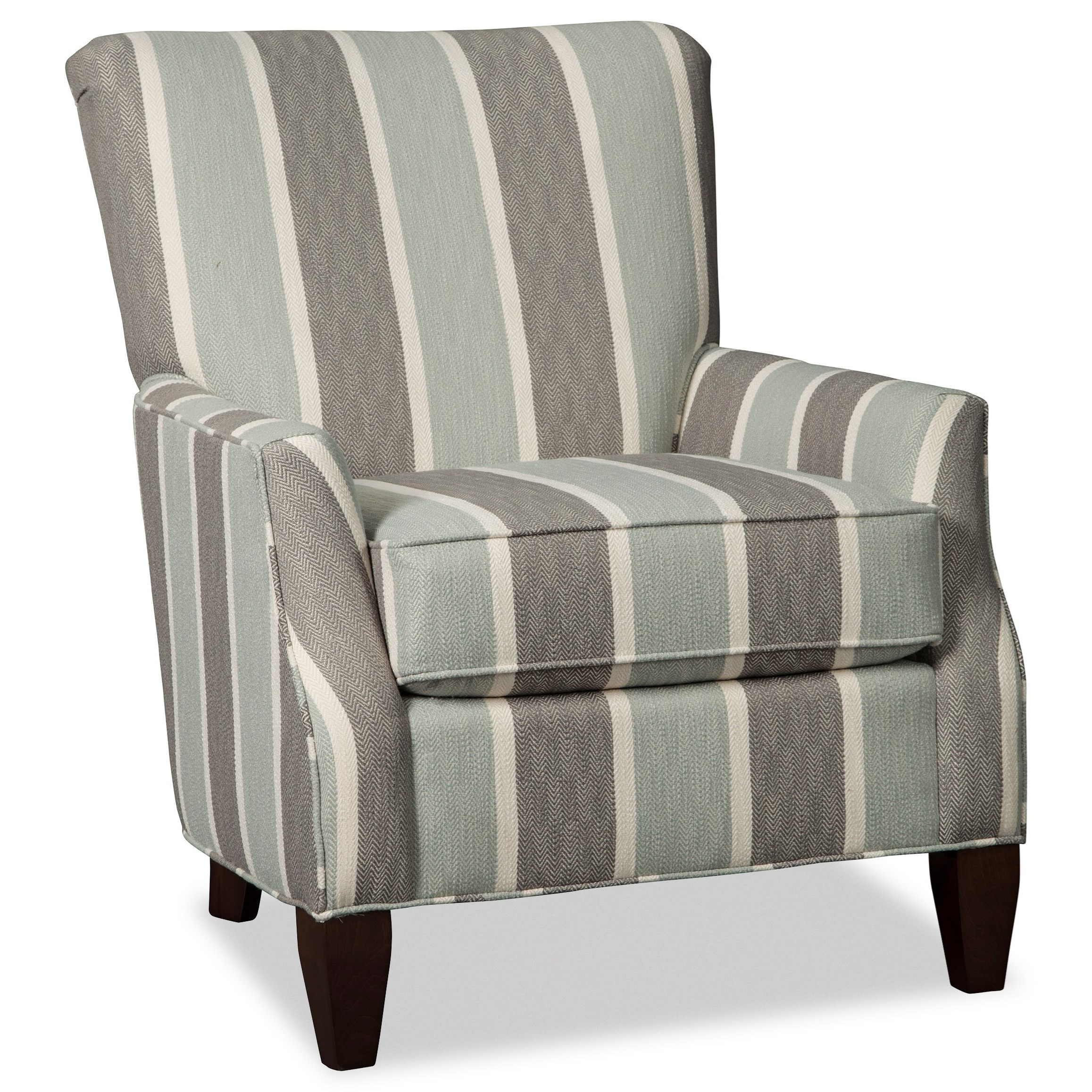 Tremendous Accent Chairs Contemporary Chair With Flair Tapered Arms By Craftmaster At Dean Boslers Squirreltailoven Fun Painted Chair Ideas Images Squirreltailovenorg