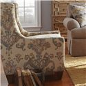 Craftmaster Accent Chairs Transitional Wing Chair