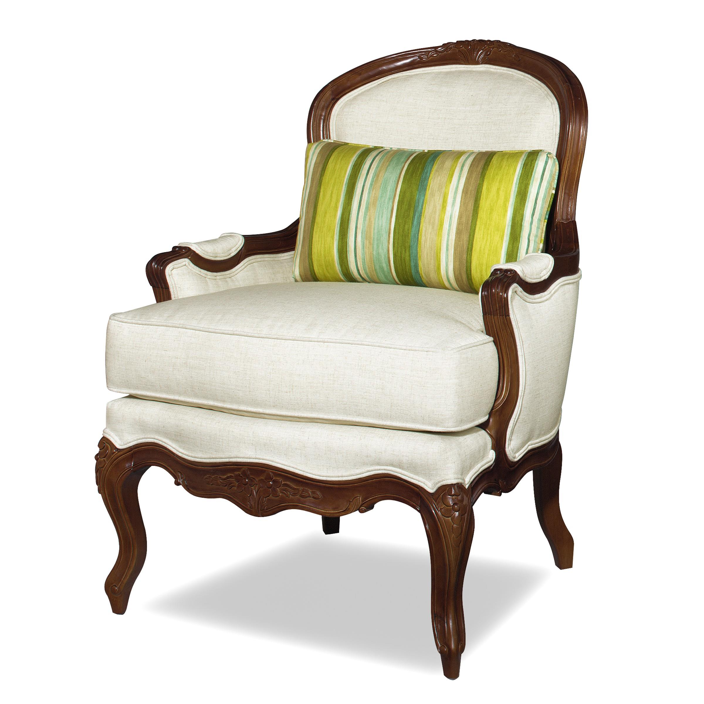 Sofa Mart Accent Chairs: Craftmaster Accent Chairs Traditional Exposed Wood Accent