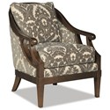 Cozy Life Accent Chairs Exposed Wood Chair - Item Number: 040010-FORTUNY-45