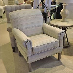 Craftmaster Accent Chairs Camelback Chair