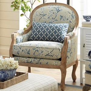 Craftmaster Accent Chairs Exposed Wood Chair