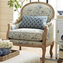 Craftmaster Accent Chairs Exposed Wood Chair - Item Number: 043810-BONNABEL-22