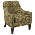 Craftmaster Accent Chairs Chair - Item Number: 048710-ZINNIA-10