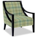 Craftmaster Accent Chairs Exposed Wood Chair - Item Number: 049410-ABERNATHY-21