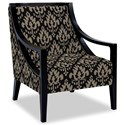 Craftmaster Accent Chairs Exposed Wood Chair - Item Number: 049410-ADIA-45