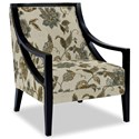 Craftmaster Accent Chairs Exposed Wood Chair - Item Number: 049410-ASHWOOD-21