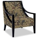 Craftmaster Accent Chairs Exposed Wood Chair - Item Number: 049410-AVERY-28