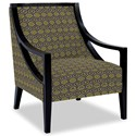 Craftmaster Accent Chairs Exposed Wood Chair - Item Number: 049410-BACK TRACK-22