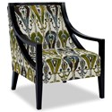 Craftmaster Accent Chairs Exposed Wood Chair - Item Number: 049410-BANDILINO-15