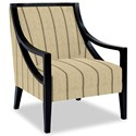 Craftmaster Accent Chairs Exposed Wood Chair - Item Number: 049410-BELLEVUE-10