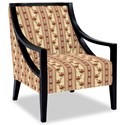 Craftmaster Accent Chairs Exposed Wood Chair - Item Number: 049410-BENSALEM-10