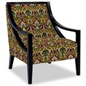 Craftmaster Accent Chairs Exposed Wood Chair - Item Number: 049410-CARVALHO-28