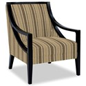 Craftmaster Accent Chairs Exposed Wood Chair - Item Number: 049410-COWEN-10