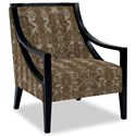 Craftmaster Accent Chairs Exposed Wood Chair - Item Number: 049410-DARTING-09