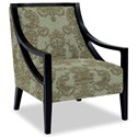 Craftmaster Accent Chairs Exposed Wood Chair - Item Number: 049410-DEMURE-21