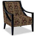 Craftmaster Accent Chairs Exposed Wood Chair - Item Number: 049410-DUNKIRK-09