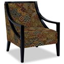 Craftmaster Accent Chairs Exposed Wood Chair - Item Number: 049410-FELICITY-25