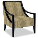 Craftmaster Accent Chairs Exposed Wood Chair - Item Number: 049410-FOOGLE-10