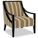 Craftmaster Accent Chairs Exposed Wood Chair - Item Number: 049410-FORZANDO-26