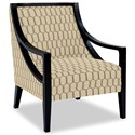 Craftmaster Accent Chairs Exposed Wood Chair - Item Number: 049410-FROU FROU-10