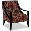 Craftmaster Accent Chairs Exposed Wood Chair - Item Number: 049410-GOYITO-26