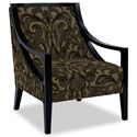 Craftmaster Accent Chairs Exposed Wood Chair - Item Number: 049410-GUINEVERE-41