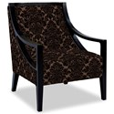 Craftmaster Accent Chairs Exposed Wood Chair - Item Number: 049410-HEARTBREAK-08