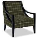Craftmaster Accent Chairs Exposed Wood Chair - Item Number: 049410-HERO-41