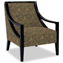 Craftmaster Accent Chairs Exposed Wood Chair - Item Number: 049410-HOLLOWAY-23