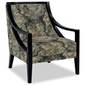 Craftmaster Accent Chairs Exposed Wood Chair - Item Number: 049410-IMPROMPTU-41