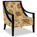 Craftmaster Accent Chairs Exposed Wood Chair - Item Number: 049410-JUBILANT-02
