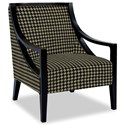 Craftmaster Accent Chairs Exposed Wood Chair - Item Number: 049410-KERRY-45