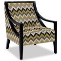 Craftmaster Accent Chairs Exposed Wood Chair - Item Number: 049410-KOSALA-41