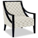 Craftmaster Accent Chairs Exposed Wood Chair - Item Number: 049410-LISBOA-31
