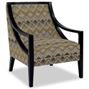 Craftmaster Accent Chairs Exposed Wood Chair - Item Number: 049410-LOZADA-21