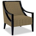 Craftmaster Accent Chairs Exposed Wood Chair - Item Number: 049410-LUCHINA-03