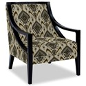 Craftmaster Accent Chairs Exposed Wood Chair - Item Number: 049410-MAMBO-41