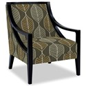 Craftmaster Accent Chairs Exposed Wood Chair - Item Number: 049410-PALMY-41