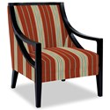 Craftmaster Accent Chairs Exposed Wood Chair - Item Number: 049410-PARNELL-26