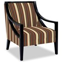 Craftmaster Accent Chairs Exposed Wood Chair - Item Number: 049410-PARTY-23