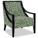 Craftmaster Accent Chairs Exposed Wood Chair - Item Number: 049410-RUSTICA-21